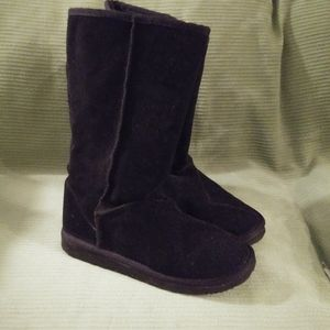 Black Ugg Style Boots